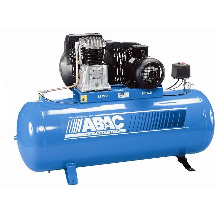 Compresseur 270 litres Abac B4900F270FT55 5.5 CV 400V