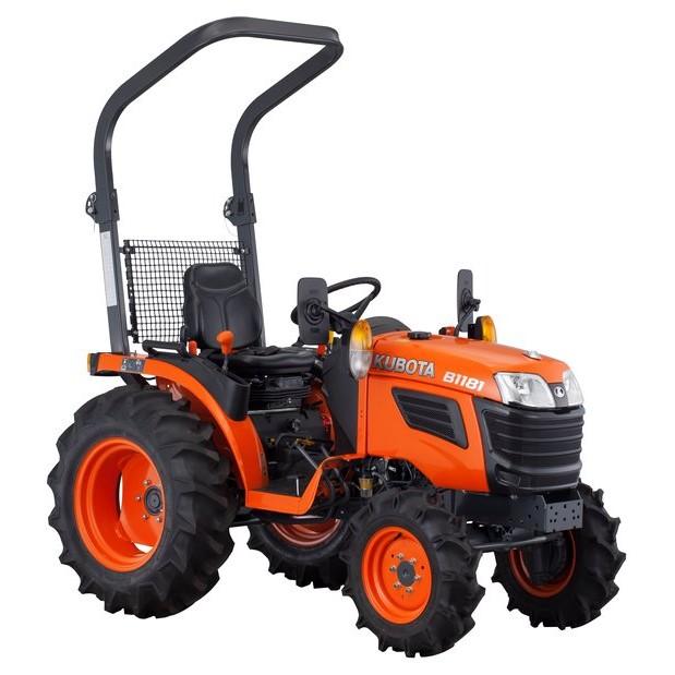 Tracteur Compact KUBOTA B1161 4x4 4x2 16cv