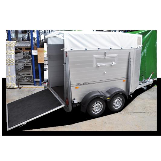 Remorque Humbaur HTV 203217 AS 322x170x47 PTAC 2000kg