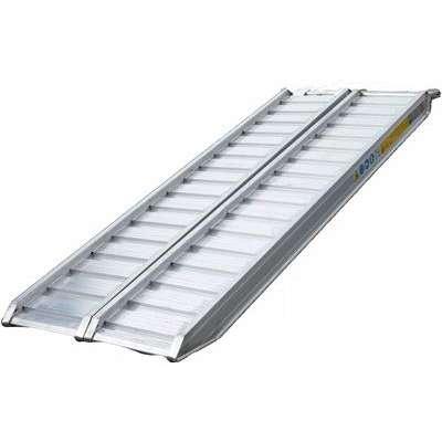 Rampes en Aluminium 2.50m 31cm 2000Kg Sans Rebords 6731A