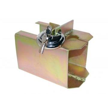 Dispositif de sécurité à boîte avec cadenas