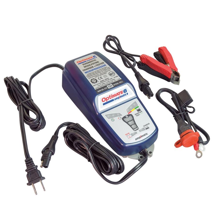 Chargeur de batterie optimate 6