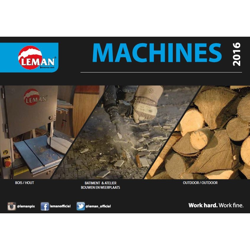 Catalogue Leman Machines 2016